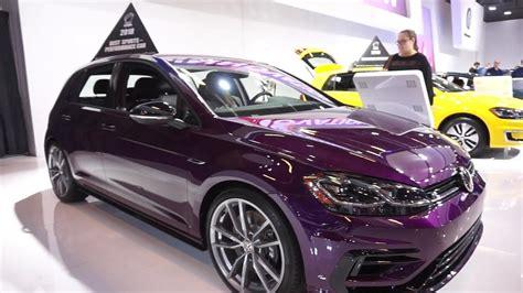 volkswagen purple 2018 vw golf r in purple youtube
