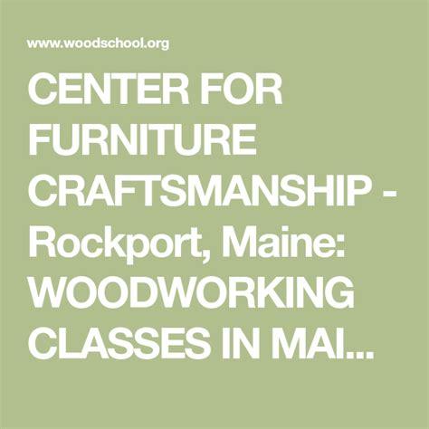center  furniture craftsmanship rockport maine
