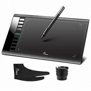 Parblo A610 Digital Tablet Graphics Drawing Tablet Pad W  Pen 2048 Level Digital Pen   Anti