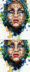 Create A Beautiful Abstract Portrait In Photoshop  U2013 Psd Premium Tutorial