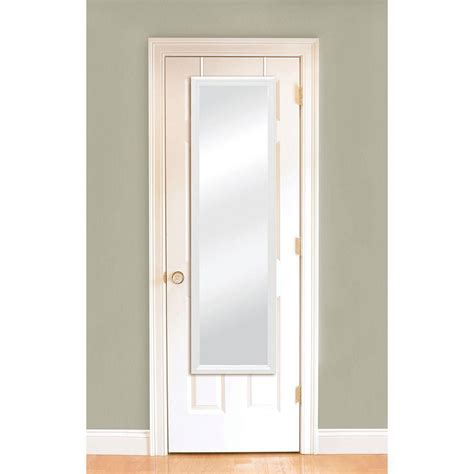 the door mirrors 14 1 4 in w x 50 1 4 in h door mirror 72924 the home depot