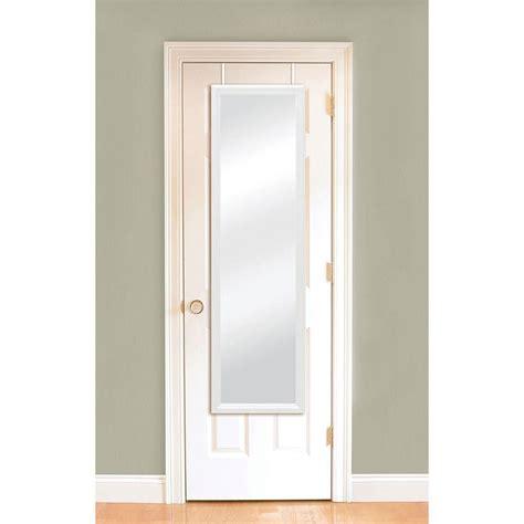 the door mirror 14 1 4 in w x 50 1 4 in h door mirror 72924 the home depot