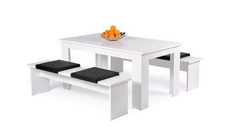 Kleine Bank Weiß by Tischgruppe M 220 Nchen Esszimmerset Tisch Bank In Wei 223 Dekor