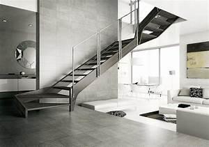 Escalier Quart Tournant Haut Droit : escalier tournant d sign ~ Dailycaller-alerts.com Idées de Décoration