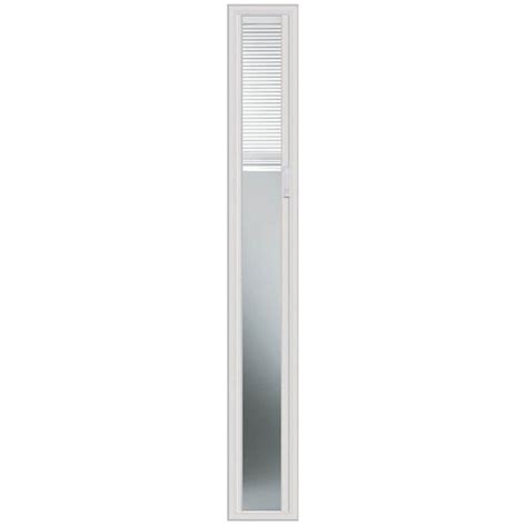 sidelight window treatments home depot odl 8 inch x 64 inch light touch enclosed blinds sidelight
