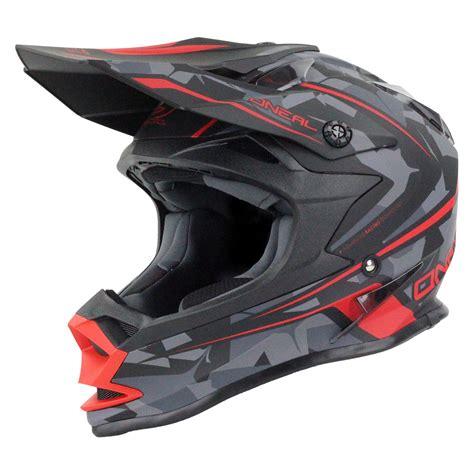 camo motocross oneal new 2017 mx 7 series evo camo matte red grey