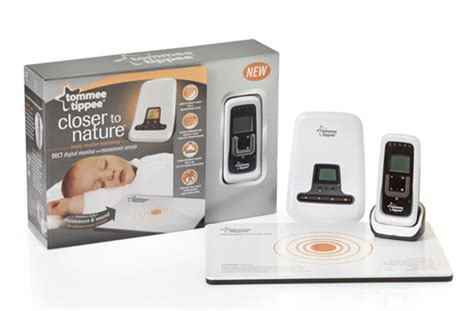 tommee tippee closer to nature sensor baby monitor with - Baby Monitor And Sensor Mat