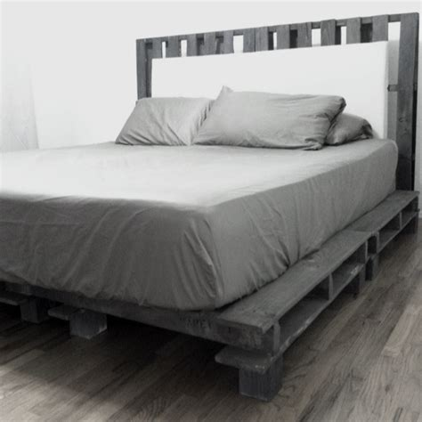 diy cal king platform bed frame quick woodworking projects