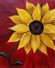 Sunflower Paint Night Ideas