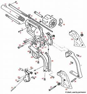 uberti cattleman 1873 colt army knock off exploded With tattoo gun diagram