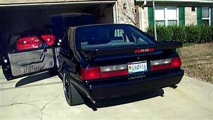 91 Lx 5.0 mustang Kenne bell supercharged - YouTube