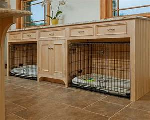 built in dog kennels With built dog kennels