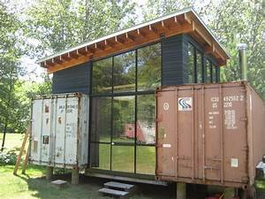 Shipping Container Home - Modern Home Exteriors