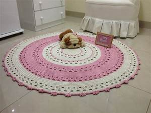 Baby Tapete Rosa : tapete de croche rosa beb karina ateli vera peixoto ~ Michelbontemps.com Haus und Dekorationen