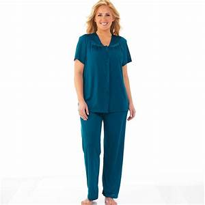 Vanity Fair Long Sleeve Pajamas Vanity Fair Nightgown