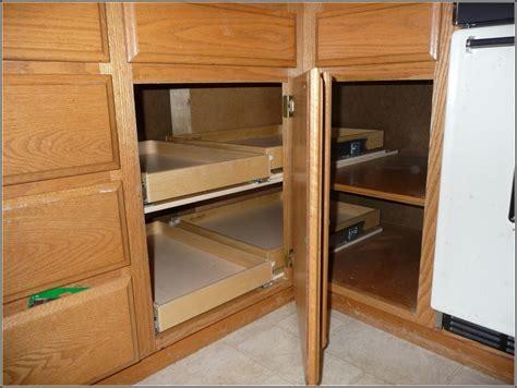 Blind Corner Kitchen Cabinet Ideas by Blind Corner Cabi Solutions Diy Best Home Design Ideas