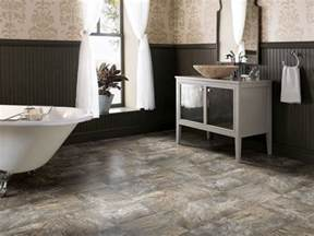 bathroom floor ideas vinyl vinyl low cost and lovely hgtv