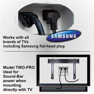 Hide Cords Of A Tv Mounted Over Fireplace