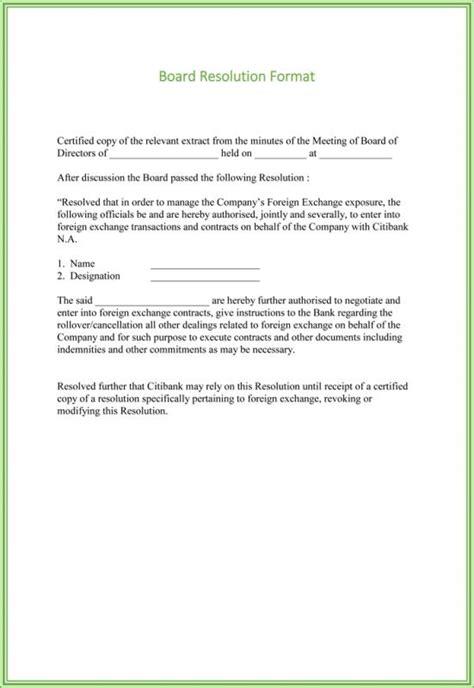 board resolution template shatterlioninfo