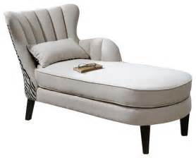 Chaise Lounge Indoor by Uttermost Zea Chaise Lounge Contemporary Indoor Chaise
