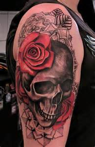Girl Skull Tattoo Designs