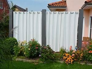 sichtschutz mittelsaule 22 m x 02 x 02 m With französischer balkon mit garten vorhang