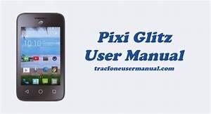 Tracfone Alcatel Pixi Glitz A463bg User Manual Guide
