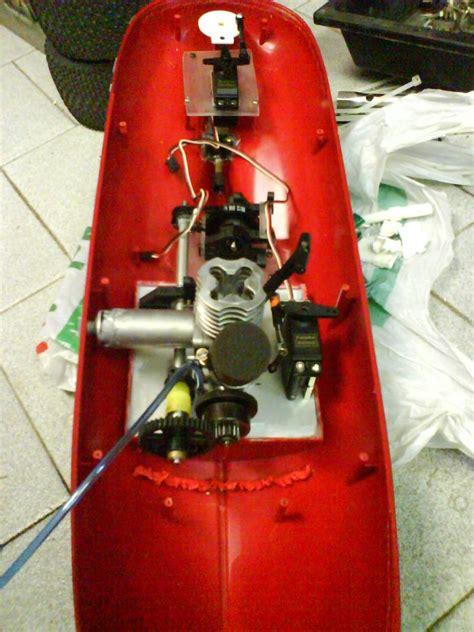 prototipo barca rc con motore a scoppio forum modellismo net