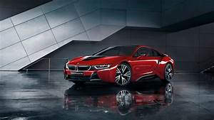 Wallpaper Protonic Red, BMW i8, Celebration Edition