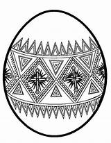 Easter Egg Coloring Designs Pages Designing Eggs Printable Sunday Drawing Netart Print Getcolorings sketch template