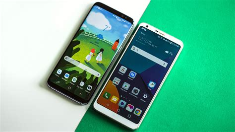 which samsung phone has the best samsung galaxy s8 vs lg g6 the best phone 10bestcase