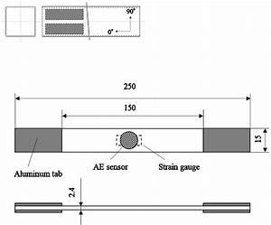 Specimen Geometry For Tensile Test