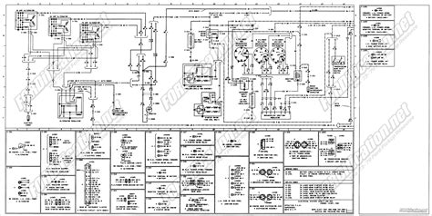 1970 Ford F600 Wiring Diagram by 1973 1979 Ford Truck Wiring Diagrams Schematics