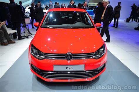 vw polo facelift   geneva