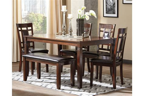 ashley furniture dinner tables dining table set by ashley furniture furniture mall of
