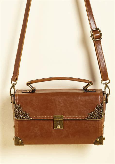 scrapbook  bag  cognac mod retro vintage bags