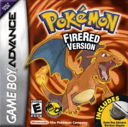 pokemon fire red version rus