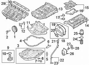 Volkswagen Tiguan Engine Timing Cover Gasket  Front Cover