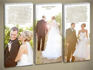 Best ideas about wedding canvas on