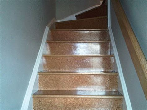 cork flooring for stairs put cork floor on stairs pictures to pin on pinterest pinsdaddy