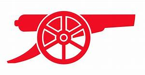 official club crest cannon Arsenal Pinterest Crests
