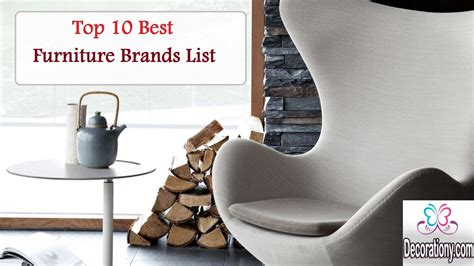 top 10 best furniture brands list for quality cost
