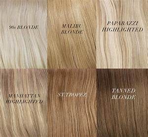Blonde Hair Extensions Shades Inspirations from ...