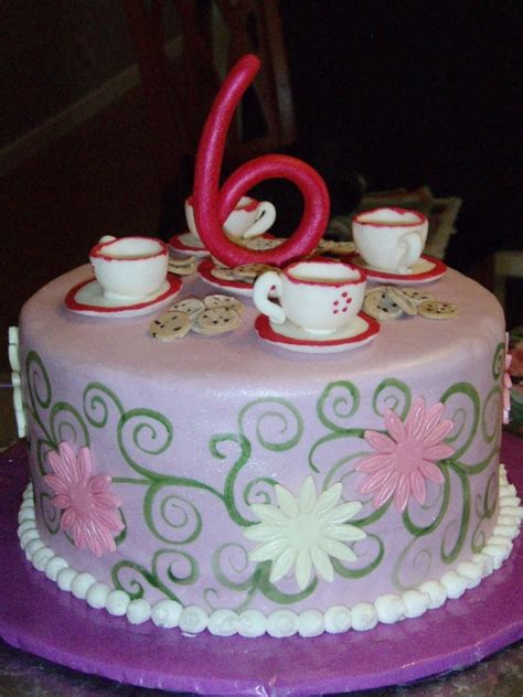 tea party cakes decoration ideas  birthday cakes