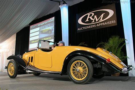 As bugatti's most popular and successful touring car, the type 44 was without serious competition. Bugatti Type 44 Roadster - Chassis: 44857 - 2006 Amelia Island Concours d'Elegance