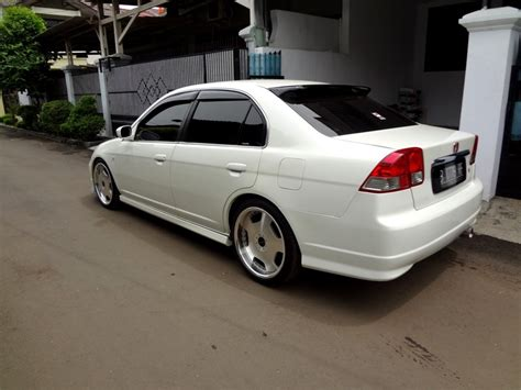 Honda Civic 2002 Modifikasi by Modifikasi Honda Civic 2001 Putih Terbaru 2015 Tips Otomotif
