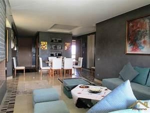Appartement Contemporain : appartement contemporain meubl agdal marrakech ~ Melissatoandfro.com Idées de Décoration