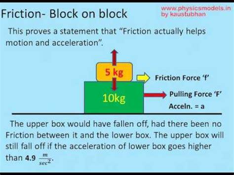 physics friction solved problem block block youtube