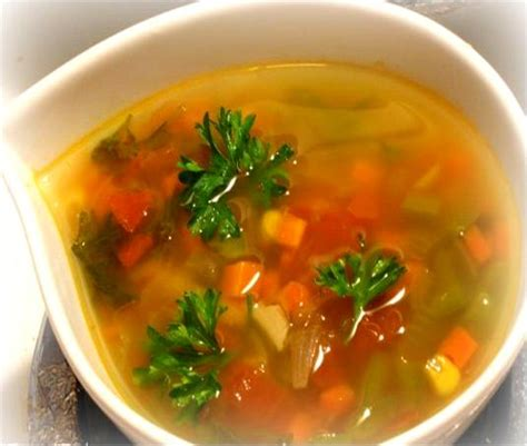 how to make vegetable soup french vegetable soup recipe