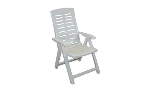 Supagarden Multi Position Armchair White